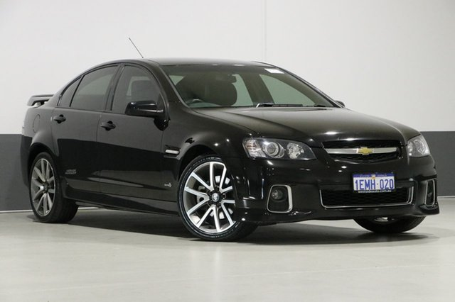 Used Holden Commodore VE II MY12 SS-V, 2012 Holden Commodore VE II MY12 SS-V Black 6 Speed Manual Sedan