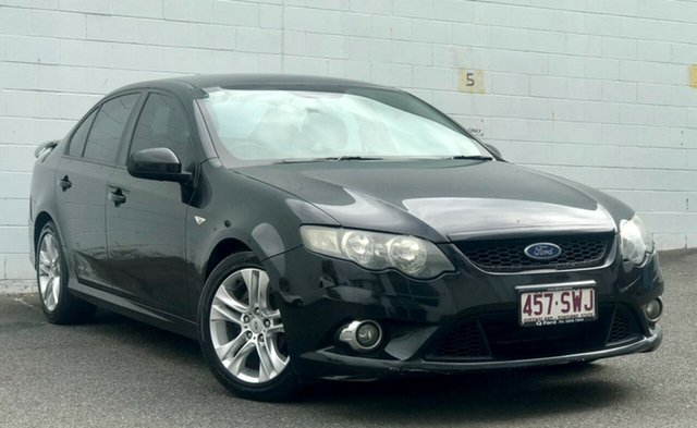 Used Ford Falcon FG XR6, 2010 Ford Falcon FG XR6 Black 6 Speed Sports Automatic Sedan
