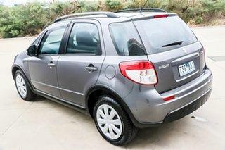 2013 Suzuki SX4 GYA MY13 Crossover Navigator Mineral Grey 6 Speed Constant Variable Hatchback.