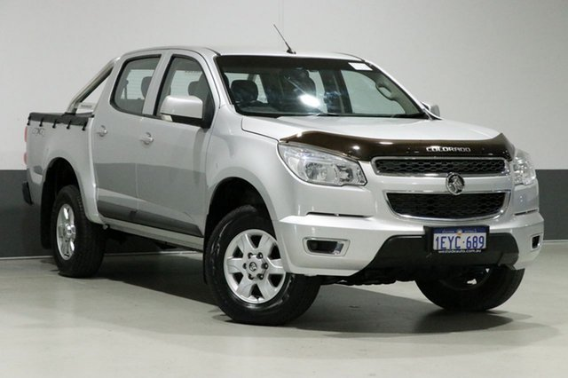 Used Holden Colorado RG MY16 LS-X (4x4), 2015 Holden Colorado RG MY16 LS-X (4x4) Silver 6 Speed Automatic Crew Cab Pickup