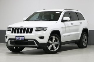 2013 Jeep Grand Cherokee WK MY14 Limited (4x4) White 8 Speed Automatic Wagon.