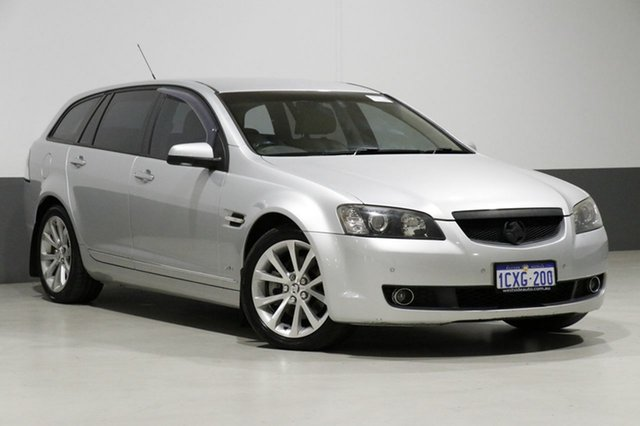 Used Holden Calais VE MY09 V, 2008 Holden Calais VE MY09 V Silver 6 Speed Automatic Sportswagon