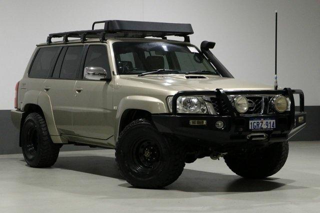 Used Nissan Patrol GU IV ST-L (4x4), 2005 Nissan Patrol GU IV ST-L (4x4) Gold 5 Speed Manual Wagon
