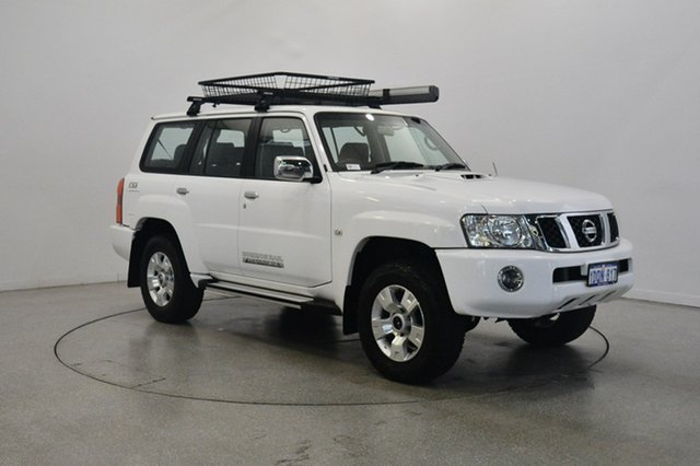 Used Nissan Patrol GU 7 MY10 ST, 2011 Nissan Patrol GU 7 MY10 ST White 4 Speed Automatic Wagon