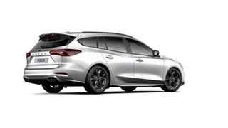 2019 Ford Focus SA 2019.75MY ST-Line Moondust Silver 8 Speed Automatic Wagon.