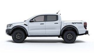 2018 Ford Ranger PX MkIII 2019.00MY Raptor Pick-up Double Cab Arctic White 10 Speed Sports Automatic