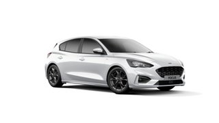 2019 Ford Focus SA 2019.25MY ST-Line Frozen White 8 Speed Automatic Hatchback.