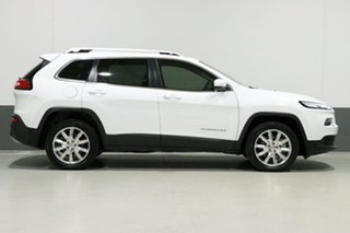 2014 Jeep Cherokee KL MY15 Limited (4x4) White 9 Speed Automatic Wagon