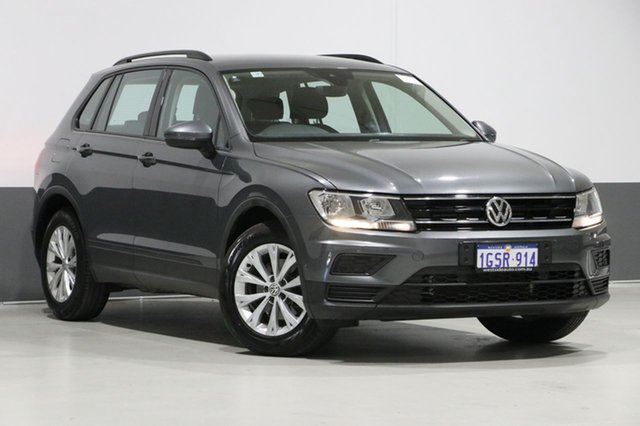 Used Volkswagen Tiguan 5NA 110 TSI Trendline, 2017 Volkswagen Tiguan 5NA 110 TSI Trendline Indium Grey 6 Speed Direct Shift Wagon