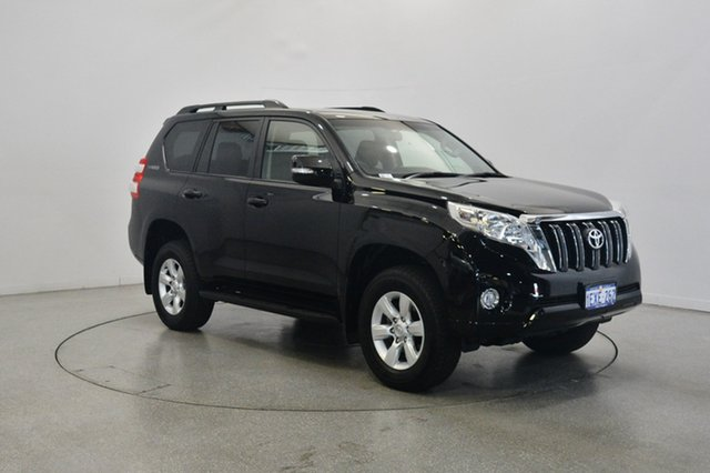 Used Toyota Landcruiser Prado GDJ150R GXL, 2015 Toyota Landcruiser Prado GDJ150R GXL Black 6 Speed Sports Automatic Wagon