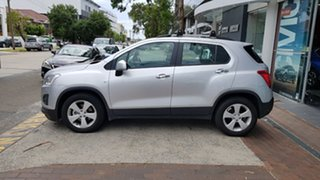 2016 Holden Trax TJ MY16 Active Silver 6 Speed Automatic Wagon