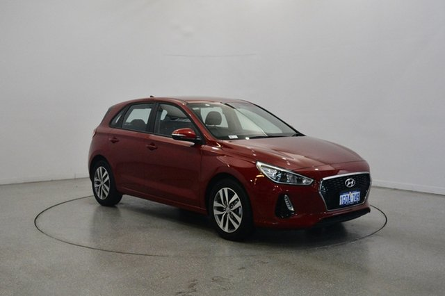 Used Hyundai i30 PD2 MY18 Active, 2018 Hyundai i30 PD2 MY18 Active Firey Red 6 Speed Sports Automatic Hatchback