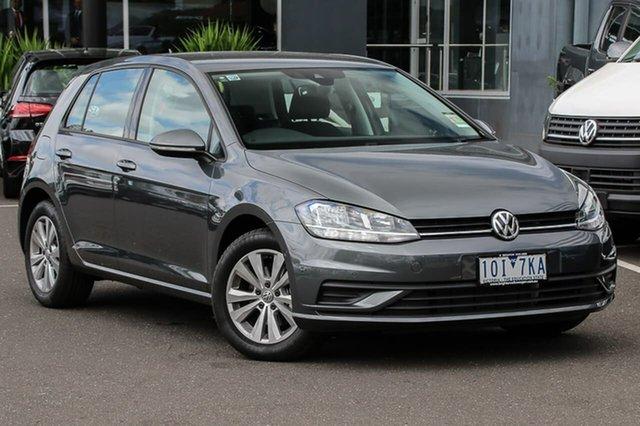 Demo Volkswagen Golf 7.5 MY19 110TSI DSG Trendline, 2018 Volkswagen Golf 7.5 MY19 110TSI DSG Trendline Grey 7 Speed Sports Automatic Dual Clutch