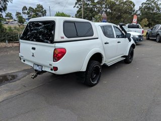 2015 Mitsubishi Triton MN MY15 GLX Double Cab 4x2 White 4 Speed Sports Automatic Utility