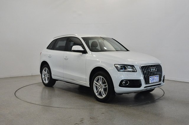 Used Audi Q5 8R MY14 TDI S tronic quattro, 2014 Audi Q5 8R MY14 TDI S tronic quattro White 7 Speed Sports Automatic Dual Clutch Wagon