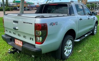 2014 Ford Ranger PX Wildtrak Double Cab Silver 6 Speed Automatic Utility.