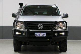 2015 Volkswagen Amarok 2H MY15 TDI400 (4x4) Silver 6 Speed Manual Utility.