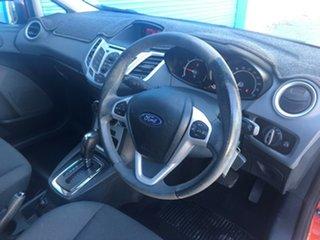 2013 Ford Fiesta WZ Ambiente PwrShift Metallic Orange 6 Speed Sports Automatic Dual Clutch Hatchback