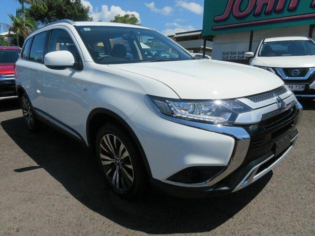 Used Mitsubishi Outlander ZL MY19 ES AWD, 2018 Mitsubishi Outlander ZL MY19 ES AWD White 6 Speed Constant Variable Wagon