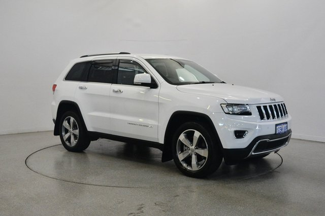 Used Jeep Grand Cherokee WK MY15 Limited, 2015 Jeep Grand Cherokee WK MY15 Limited White 8 Speed Sports Automatic Wagon