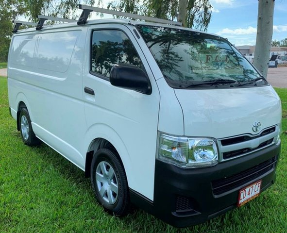 Used Toyota Hiace TRH201R MY12 LWB, 2013 Toyota Hiace TRH201R MY12 LWB White 5 Speed Manual Van