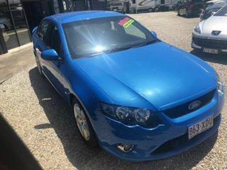 2009 Ford Falcon FG XR6 Blue 6 Speed 6 SP Semi Auto Sedan.