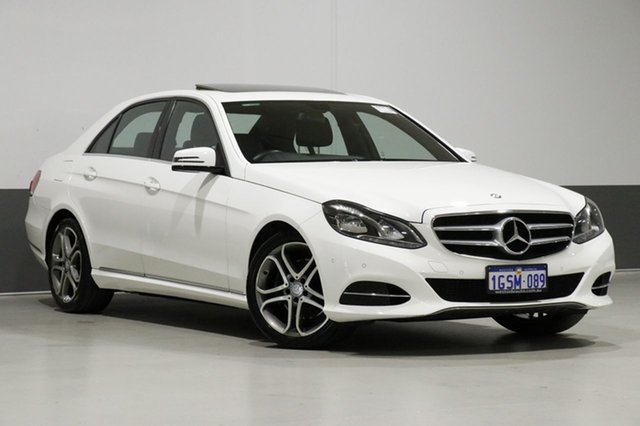 Used Mercedes-Benz E200 212 MY13 , 2013 Mercedes-Benz E200 212 MY13 Polar White 7 Speed Automatic Sedan