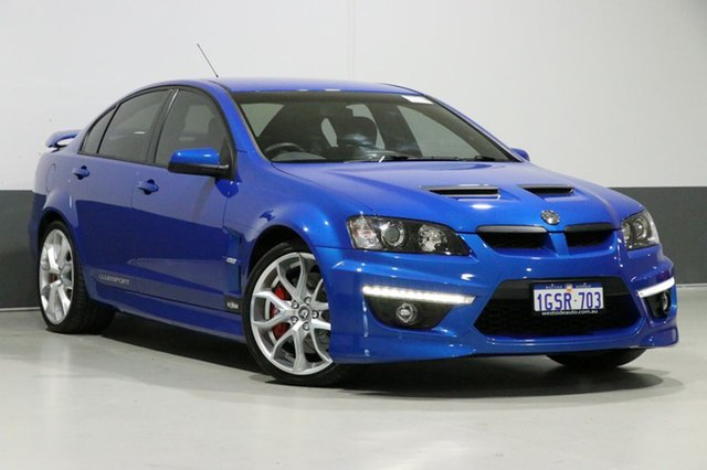 Used Holden Special Vehicles Clubsport E2 Series 20th Anniversary, 2011 Holden Special Vehicles Clubsport E2 Series 20th Anniversary Blue 6 Speed Manual Sedan
