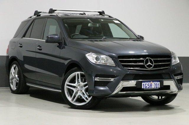 Used Mercedes-Benz ML250 CDI BlueTEC 166 4x4, 2013 Mercedes-Benz ML250 CDI BlueTEC 166 4x4 Grey 7 Speed Automatic Wagon