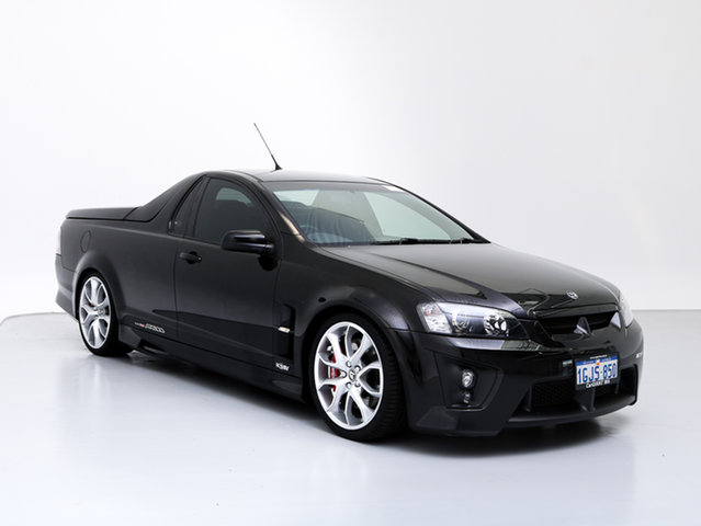 Used Holden Special Vehicles Maloo E Series MY08 Upgrade R8, 2009 Holden Special Vehicles Maloo E Series MY08 Upgrade R8 Black 6 Speed Automatic Utility