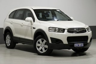 2012 Holden Captiva CG MY12 7 SX (FWD) White 6 Speed Automatic Wagon.