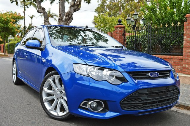 Used Ford Falcon FG MkII XR6 Turbo, 2012 Ford Falcon FG MkII XR6 Turbo Blue 6 Speed Sports Automatic Sedan