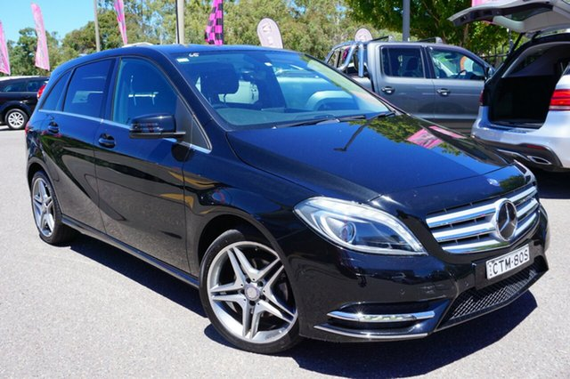 Used Mercedes-Benz B200 CDI W246 DCT, 2014 Mercedes-Benz B200 CDI W246 DCT Black 7 Speed Sports Automatic Dual Clutch Hatchback