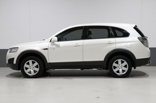 2012 Holden Captiva CG MY12 7 SX (FWD) White 6 Speed Automatic Wagon