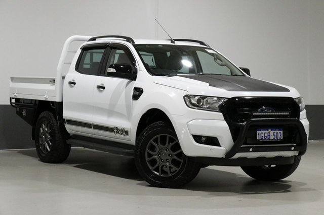 Used Ford Ranger PX Mkii MY17 FX4 Special Edition, 2017 Ford Ranger PX Mkii MY17 FX4 Special Edition White 6 Speed Automatic Dual Cab Utility
