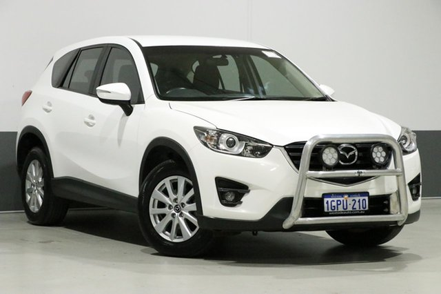 Used Mazda CX-5 MY15 Maxx Sport (4x4), 2016 Mazda CX-5 MY15 Maxx Sport (4x4) White 6 Speed Automatic Wagon