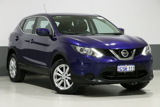 Used Nissan Qashqai J11 ST, 2017 Nissan Qashqai J11 ST Blue Continuous Variable Wagon