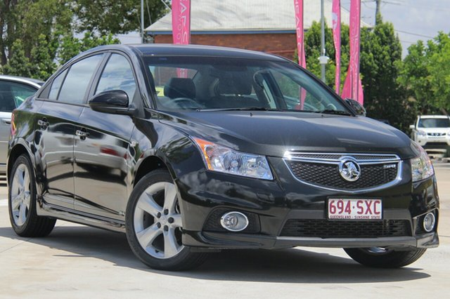 Used Holden Cruze JH Series II MY12 SRi, 2012 Holden Cruze JH Series II MY12 SRi Black 6 Speed Sports Automatic Sedan