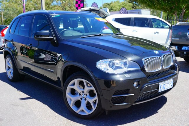 Used BMW X5 E70 MY1112 xDrive40d Steptronic Sport, 2013 BMW X5 E70 MY1112 xDrive40d Steptronic Sport Black 8 Speed Sports Automatic Wagon
