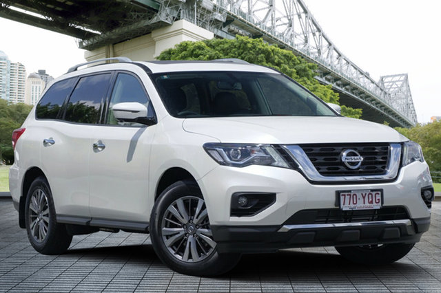 Demo Nissan Pathfinder R52 Series II MY17 ST-L X-tronic 2WD, 2018 Nissan Pathfinder R52 Series II MY17 ST-L X-tronic 2WD Ivory Pearl 1 Speed Constant Variable