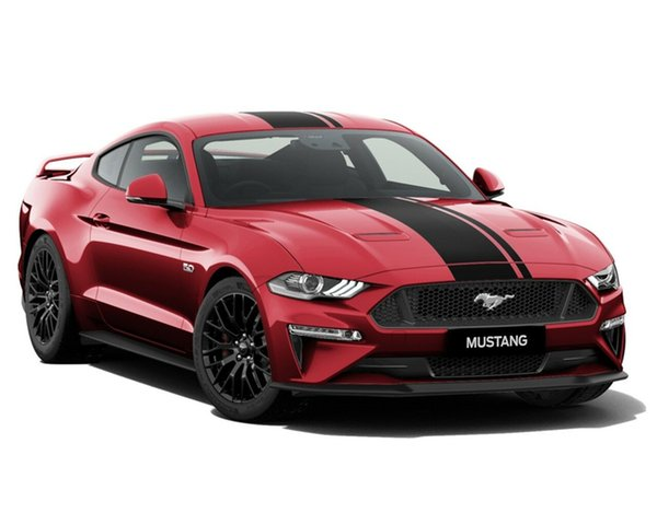 New Ford Mustang FN 2019MY GT Fastback SelectShift RWD, 2018 Ford Mustang FN 2019MY GT Fastback SelectShift RWD Ruby Red 10 Speed Sports Automatic Fastback