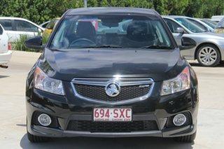2012 Holden Cruze JH Series II MY12 SRi Black 6 Speed Sports Automatic Sedan