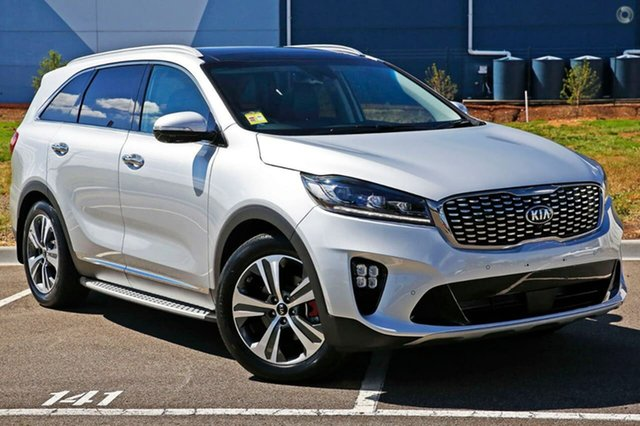 New Kia Sorento UM MY19 GT-Line, 2019 Kia Sorento UM MY19 GT-Line Silky Silver 8 Speed Sports Automatic Wagon