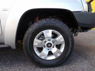 2010 Nissan Patrol GU 7 MY10 TI Silver 4 Speed Sports Automatic Wagon