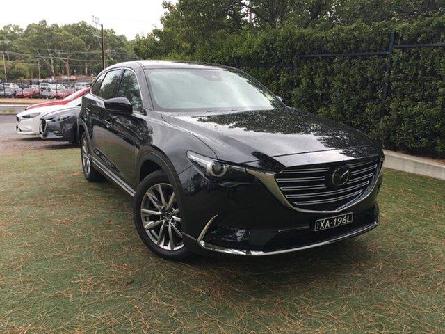 Demo Mazda CX-9 TC Azami SKYACTIV-Drive, 2018 Mazda CX-9 TC Azami SKYACTIV-Drive Jet Black 6 Speed Sports Automatic Wagon
