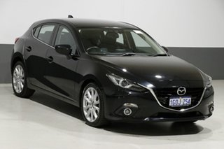 2014 Mazda 3 BL Series 2 MY13 SP25 Black 5 Speed Automatic Hatchback