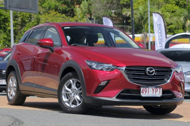Demo Mazda CX-3 DK4W7A Maxx SKYACTIV-Drive i-ACTIV AWD Sport, 2018 Mazda CX-3 DK4W7A Maxx SKYACTIV-Drive i-ACTIV AWD Sport Soul Red Crystal 6 Speed