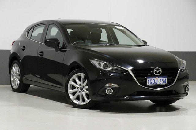Used Mazda 3 BL Series 2 MY13 SP25, 2014 Mazda 3 BL Series 2 MY13 SP25 Black 5 Speed Automatic Hatchback