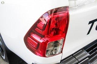 2018 Toyota Hilux GUN126R SR Double Cab Glacier White 6 Speed Sports Automatic Utility