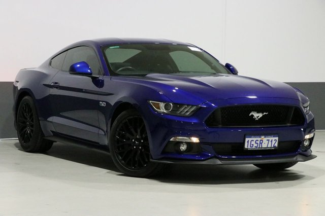 Used Ford Mustang FM Fastback GT 5.0 V8, 2016 Ford Mustang FM Fastback GT 5.0 V8 Blue 6 Speed Automatic Coupe